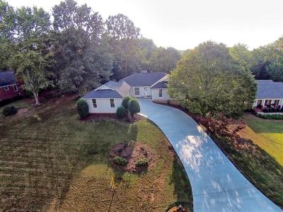 Roswell Single Family Home For Sale: 460 Saddle Lake Drive