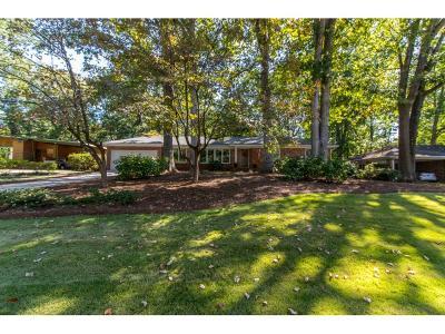 Decatur Single Family Home For Sale: 1143 Vistavia Circle