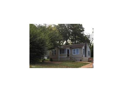Atlanta Single Family Home For Sale: 974 Estes Drive SW