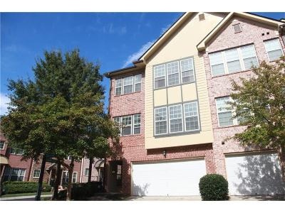 Brookhaven Condo/Townhouse For Sale: 3671 Ashford Creek View