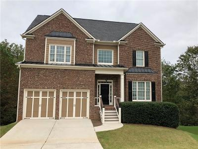 Kennesaw Single Family Home For Sale: 3436 Kenyon Creek Drive NW