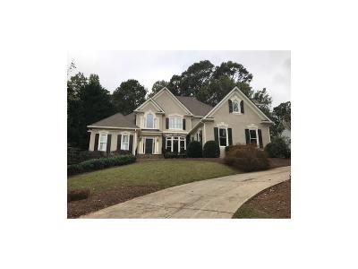 Suwanee Single Family Home For Sale: 5565 Stoneleigh Drive