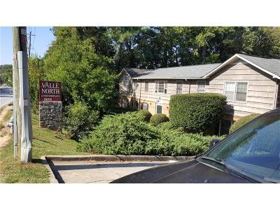 Brookhaven Condo/Townhouse For Sale: 3626 Buford Highway NE #C3