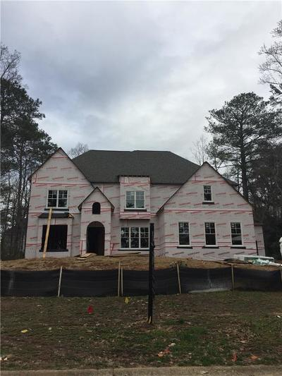 Cobb County Single Family Home For Sale: 318 Indian Hills Trail