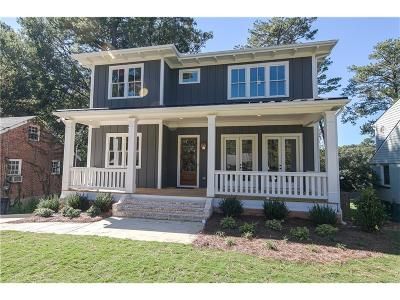 Decatur Single Family Home For Sale: 145 McClean Street