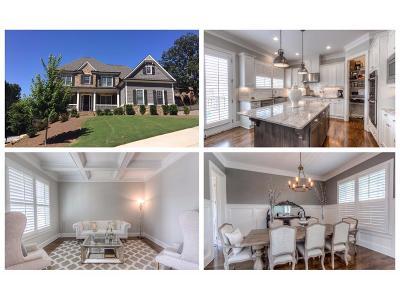 Marietta Single Family Home For Sale: 4877 Old Timber Ridge Road NE