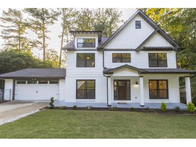 Atlanta Single Family Home For Sale: 3762 Fox Glen Court NE