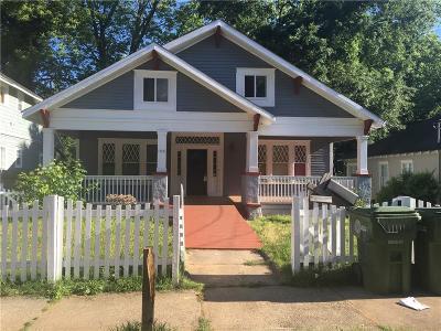 Atlanta Single Family Home For Sale: 1458 Beecher Street SW