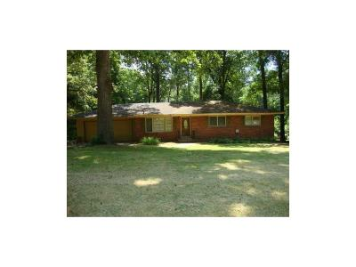 Atlanta Single Family Home For Sale: 3596 Indian Rock Road SW