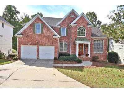 Lawrenceville Single Family Home For Sale: 1281 Dayspring Trace