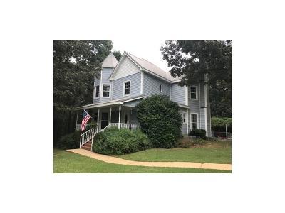 Single Family Home For Sale: 1215 Davis Road