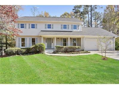 Marietta Single Family Home For Sale: 4320 Revere Circle