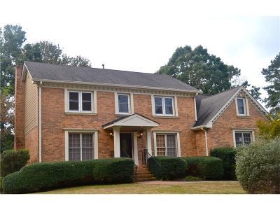 Dunwoody Single Family Home For Sale: 2149 Dunwoody Glen