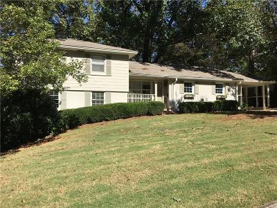Single Family Home For Sale: 1016 Dean Drive NW