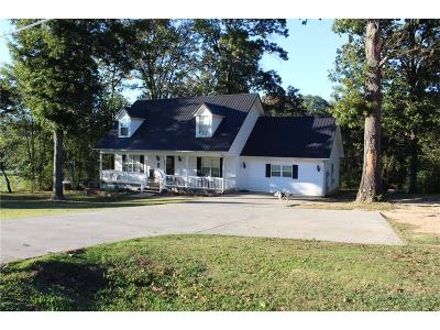 Calhoun Single Family Home For Sale: 4100 Dews Pond Road SE