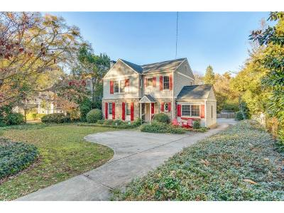 Single Family Home For Sale: 399 Collier Road NW