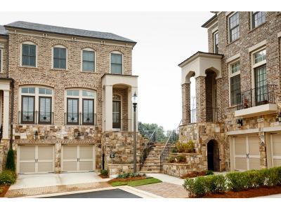 Marietta Condo/Townhouse For Sale: 5082 Merton Lane NE