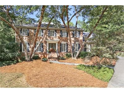 Dunwoody Single Family Home For Sale: 1311 Mile Post Drive