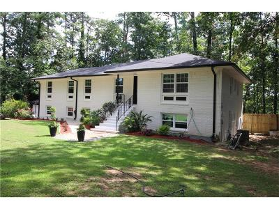Fulton County Single Family Home For Sale: 605 Dalrymple Road
