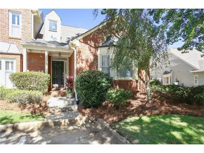 Marietta Condo/Townhouse For Sale: 1101 Bridle Path