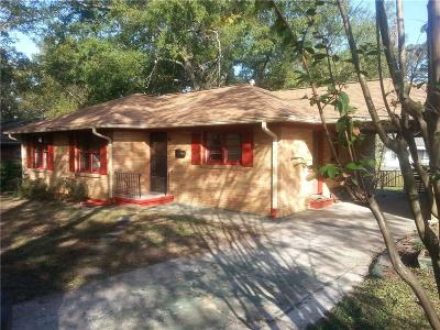 Atlanta Single Family Home For Sale: 1904 Manville Drive