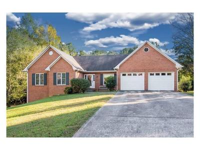 Cherokee County Single Family Home For Sale: 104 Saddlehorn Court
