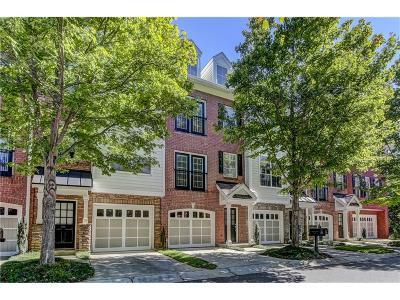 Fulton County Condo/Townhouse For Sale: 5470 Glenridge Park