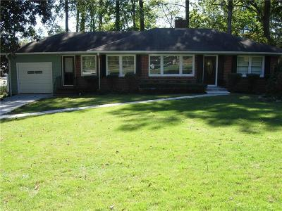 Atlanta Single Family Home For Sale: 1871 McJenkin Drive NE