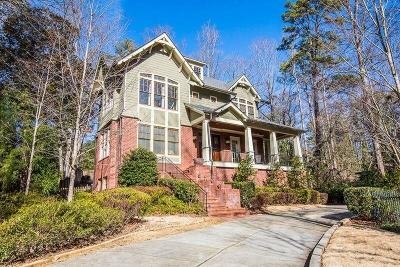 Fulton County Single Family Home For Sale: 4027 McClatchey Circle