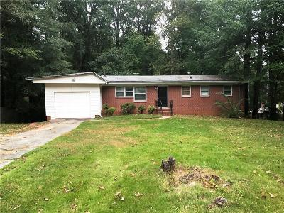 Kennesaw Single Family Home For Sale: 1984 Big Shanty Drive NW