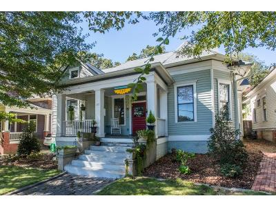 Atlanta Single Family Home For Sale: 737 Cherokee Avenue SE