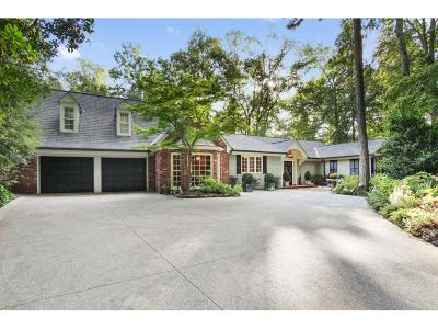 Tuxedo Park, Tuxedo Park Buckhead Single Family Home For Sale: 366 Blackland Road
