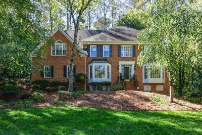 Marietta Single Family Home For Sale: 343 Lands Mill SE
