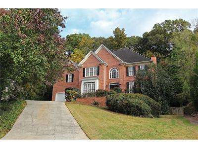 Smyrna Single Family Home For Sale: 3840 Glenhurst Drive SE