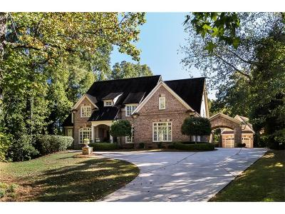 Sandy Springs Single Family Home For Sale: 37 Mount Paran Road NE