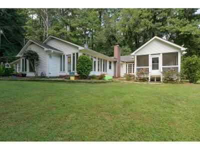 Acworth Single Family Home For Sale: 2143 Mars Hill Road NW