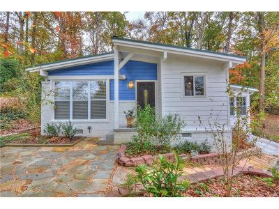 Single Family Home For Sale: 2632 Defoors Ferry Road NW