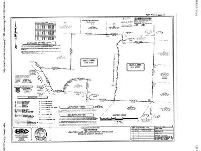 Douglas County Residential Lots & Land For Sale: Kilroy Lane