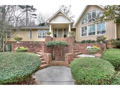 Cartersville Single Family Home For Sale: 115 Woodcrest Drive SW