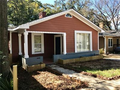 Single Family Home For Sale: 1022 Mayson Turner Road NW