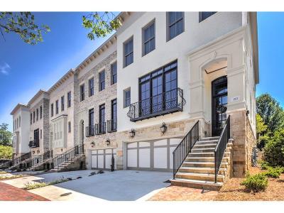 Sandy Springs GA Condo/Townhouse For Sale: $899,000