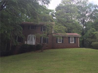 Decatur Single Family Home For Sale: 3856 Leisure Woods Drive