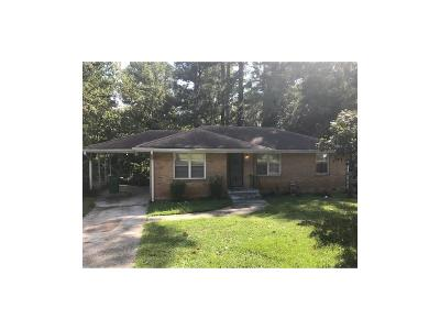 Single Family Home For Sale: 3175 McAfee Road