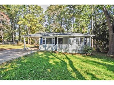 Mableton Single Family Home For Sale: 1404 Laverte Circle