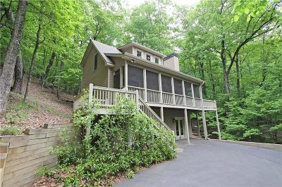 Big Canoe Single Family Home For Sale: 378 Windflower Drive
