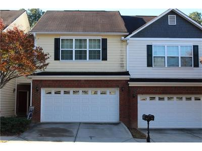 Lawrenceville Condo/Townhouse For Sale: 995 Treymont Way
