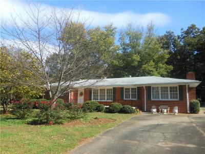 Cartersville Single Family Home For Sale: 1 Pioneer Trail