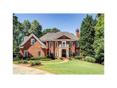 Marietta Single Family Home For Sale: 468 Gramercy Drive NE