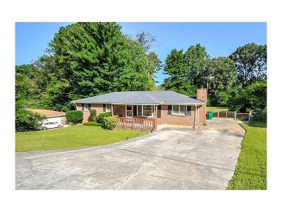 Mableton Single Family Home For Sale: 100 Charlotte Drive SW