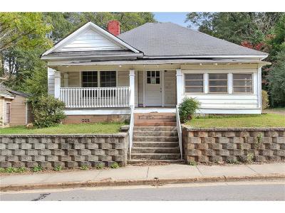 Newnan Single Family Home For Sale: 92 Pinson Street